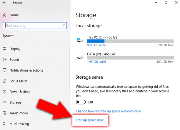 The Best Way To Free Up Hard Disk Space On Windows