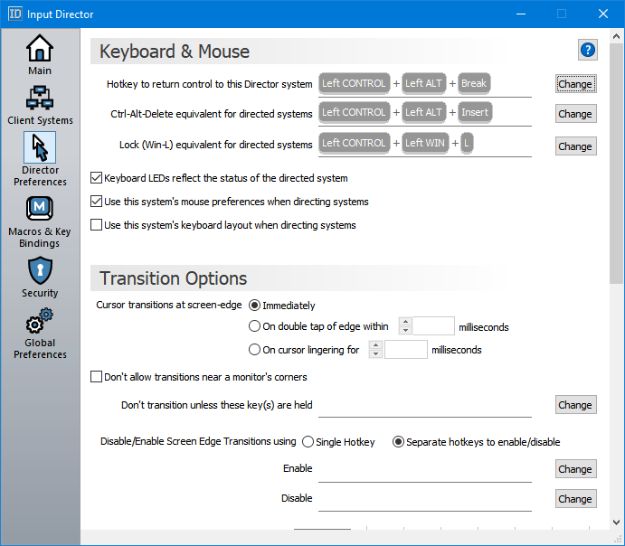 Download Input Director to Operate Several Computers using One PC